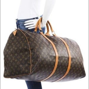 Louis Vuitton Keepall 60 Vintage Luggage